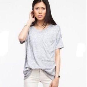 Rag & Bone Giada Pocket Short Sleeve top